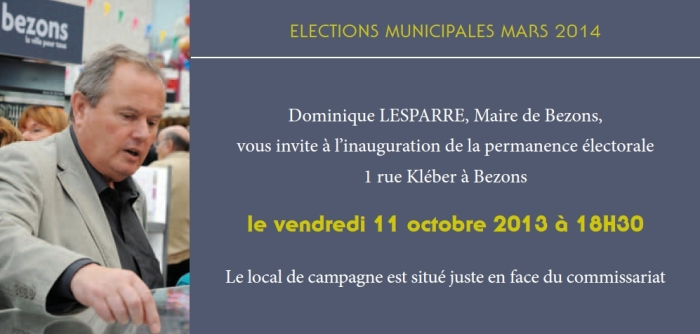 invitation local de campagne