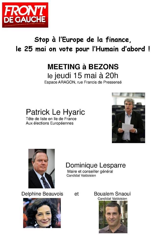 invit meeting européennes